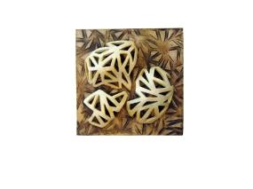 """Sombras Fragmentadas"", 2011, 10"" x 10"", 25x 25 cm."