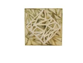 """""""Sombras suspendidas"""", 2011, 10"""" x 10"""", 25x 25 cm."""