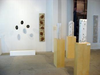 """""""Sombras fragmentadas"""", 2010 en la exposición """"…y del barro surgió el Arte"""""""