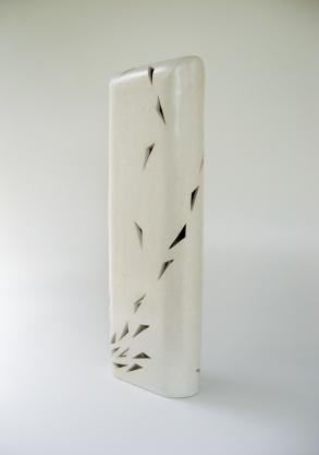 """Fluyendo en curva"", 2010, 27 1/4 x 9"" x 4 1/2"""